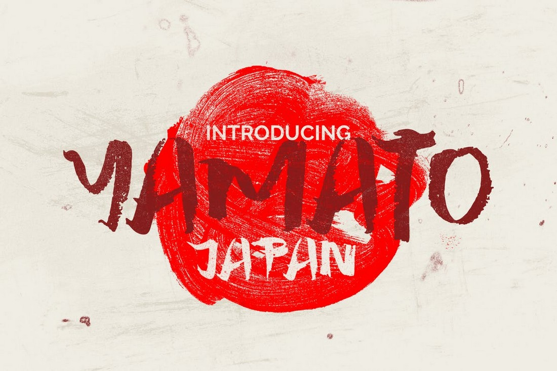 Yamato - Huruf Jepang Kasar