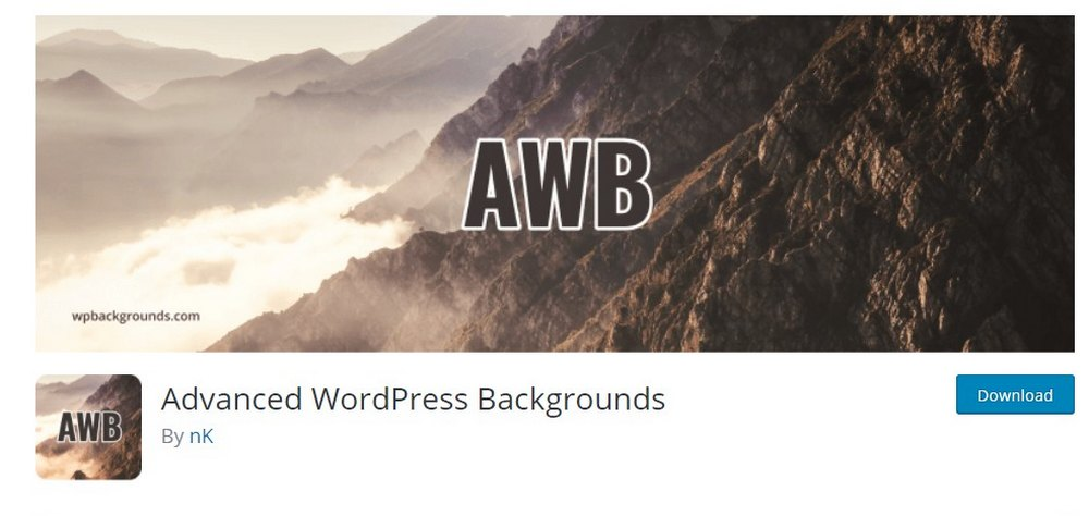 advanced wordrpess backgrounds
