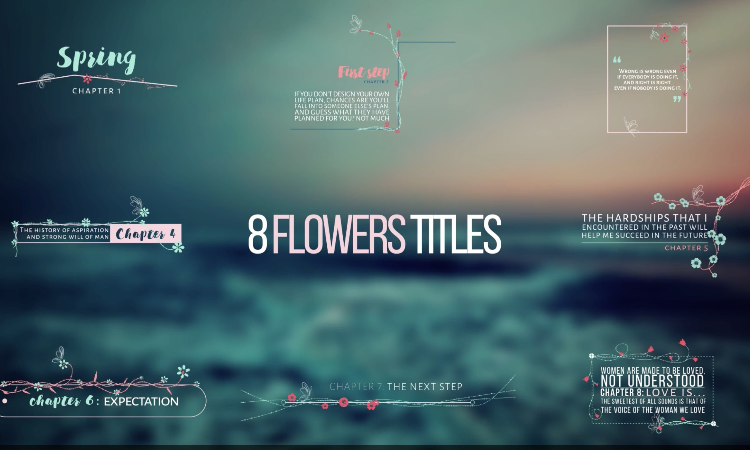 after effects typography