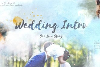 20+ Best Free After Effects Wedding Templates, Intros & Titles 2021