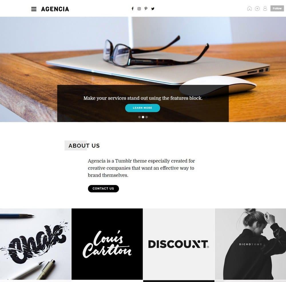 agencia-tumblr-portfolio-theme