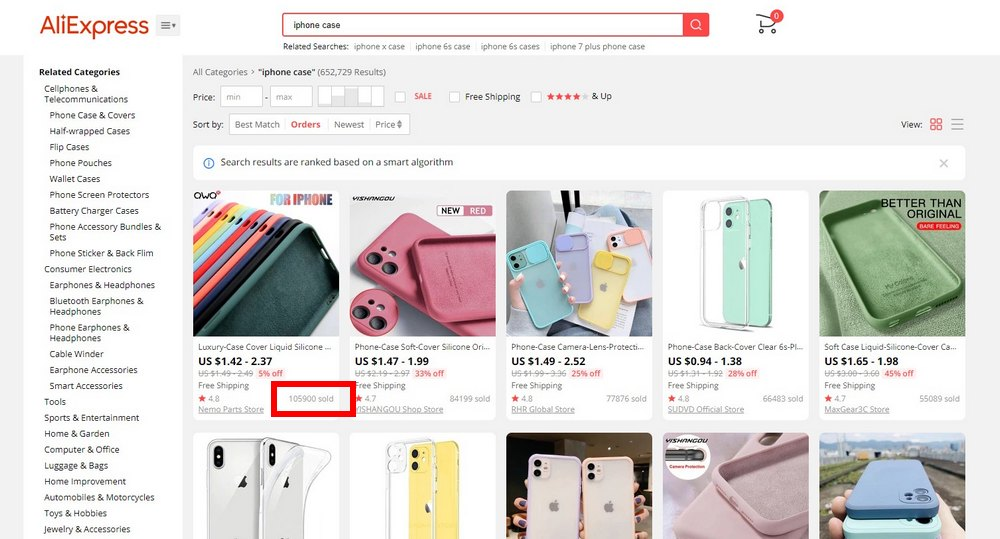 aliexpress popular products