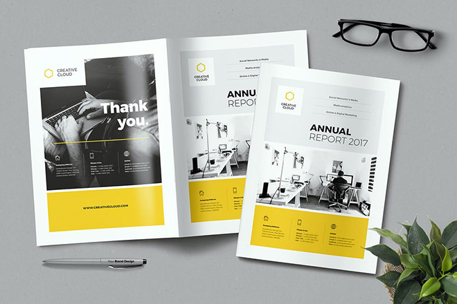 25 Best Annual Report Templates Word Indesign 2021 Theme Junkie