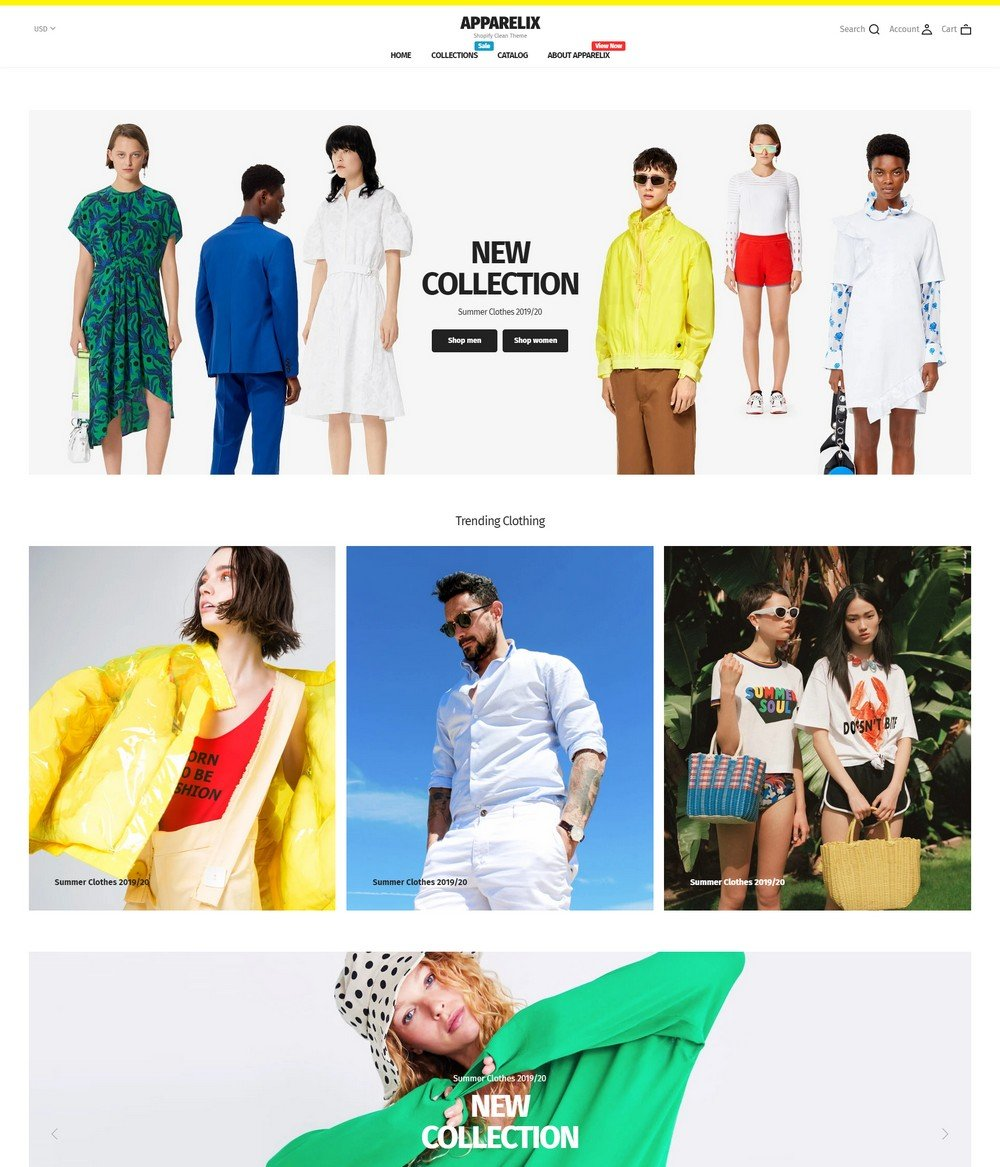 apparelix- free shopify theme