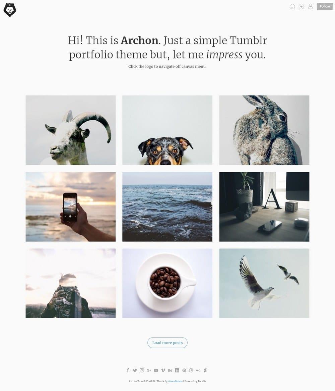 archon-minimal-tumblr-theme