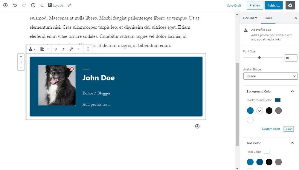 blok profil penulis