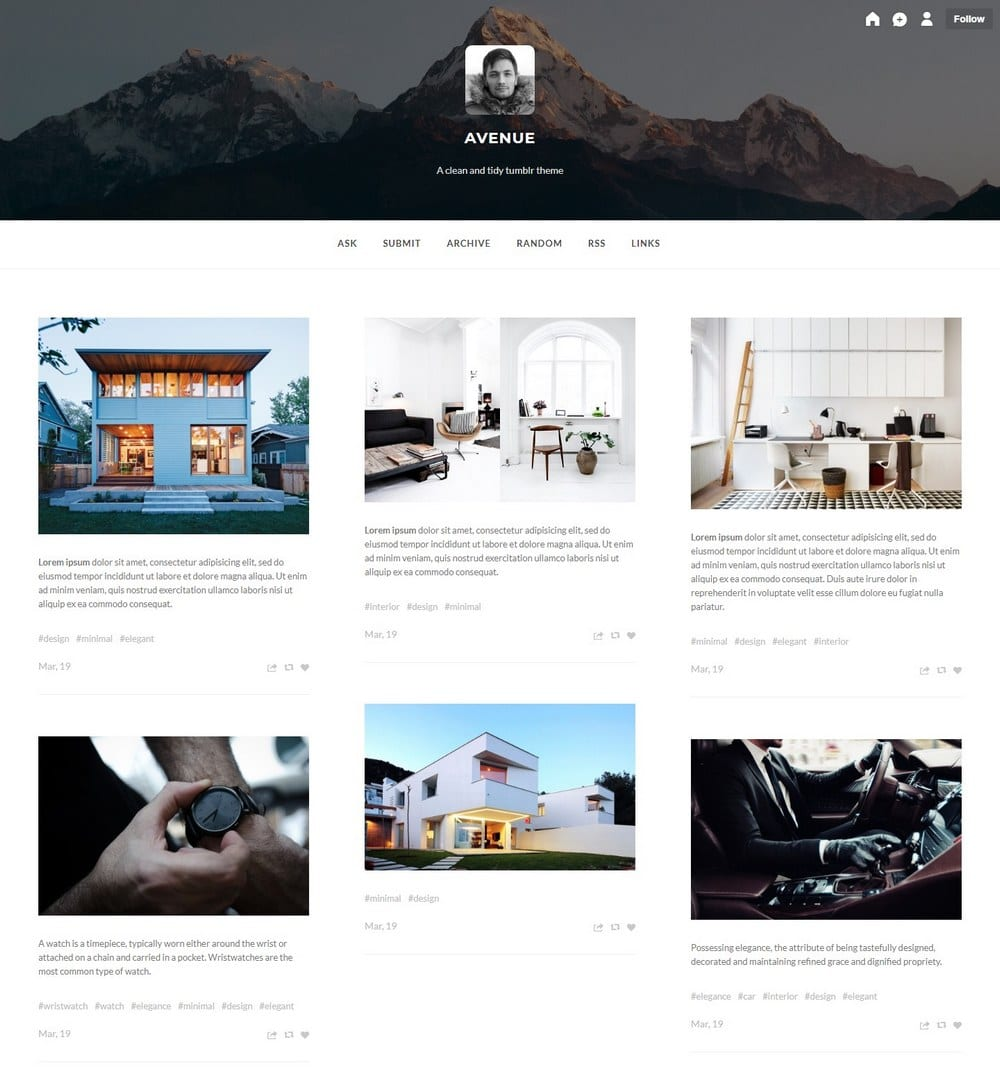 avenue-tumblr-theme-for-writer