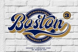 25+ Baseball Fonts (For a Jersey, Shirt, Logo + More) 2021