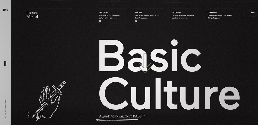 basic culture website