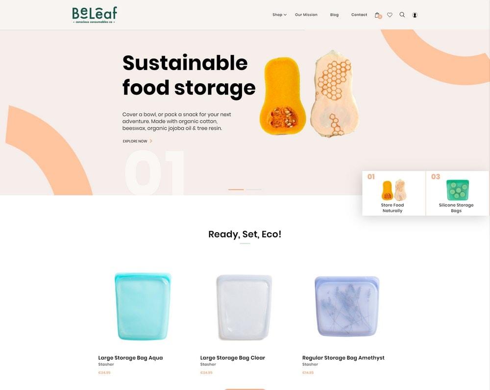 beleaf-woocommerce-store