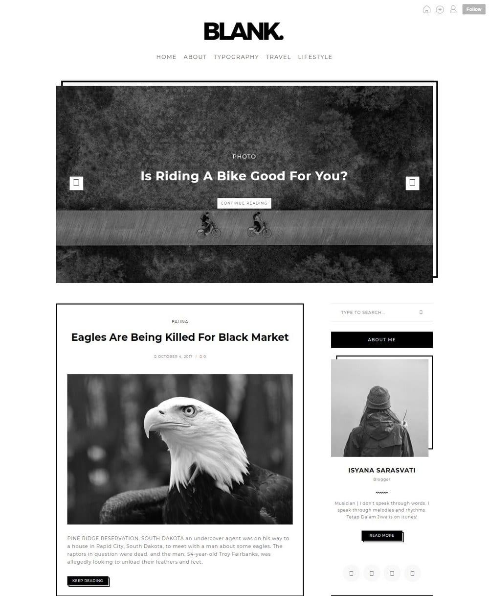 blank-minimal-tumblr-theme