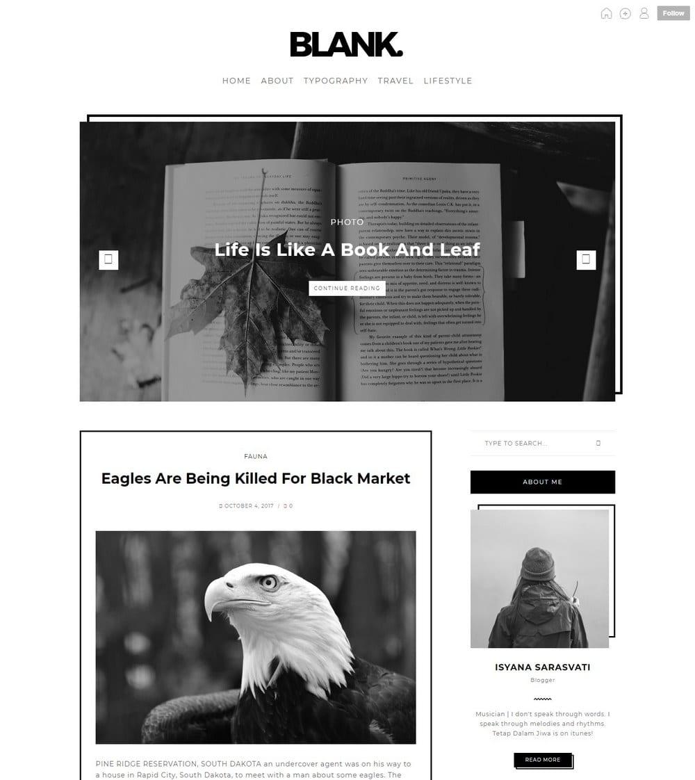 blank-two-column-tumblr-theme