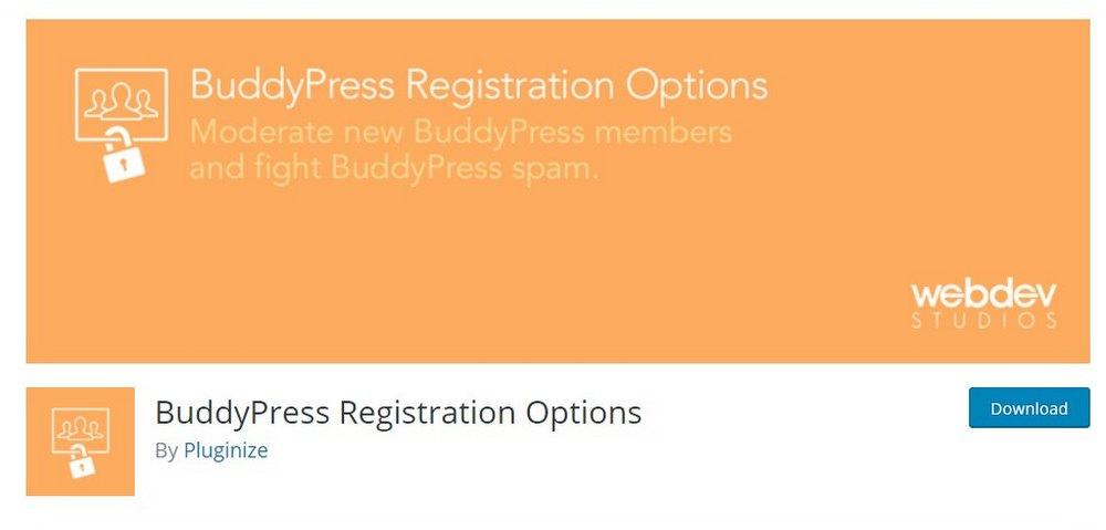 plugin opsi pendaftaran buddypress