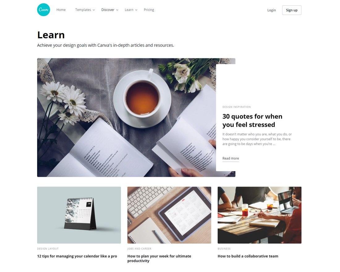blog canva