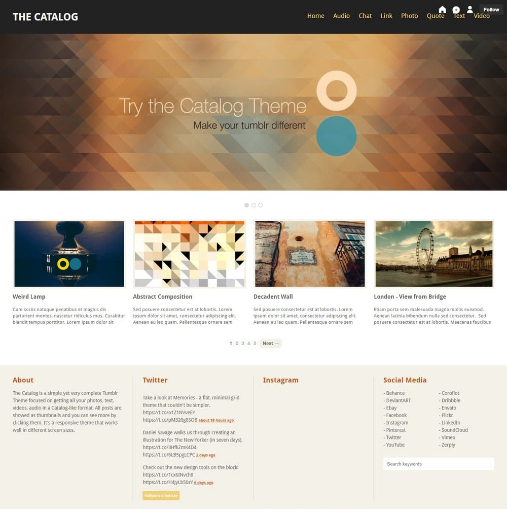 catalog-tumblr-theme-for-writer