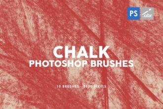 15+ Best Photoshop Chalk & Chalkboard Brushes 2021