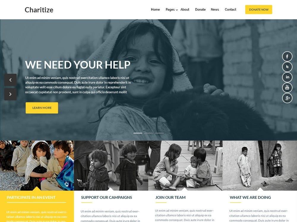 charitize-Free-Church-WordPress-Theme