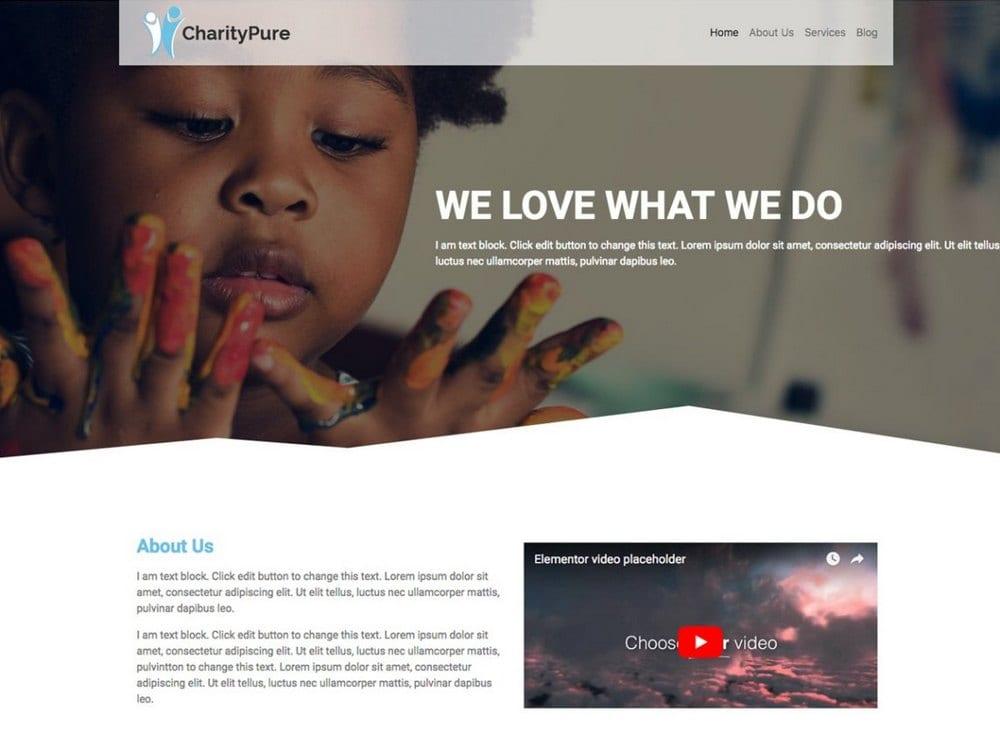 charitypure-free-church-wordpress-theme