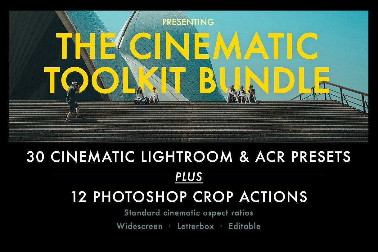 cinematic lightroom presets
