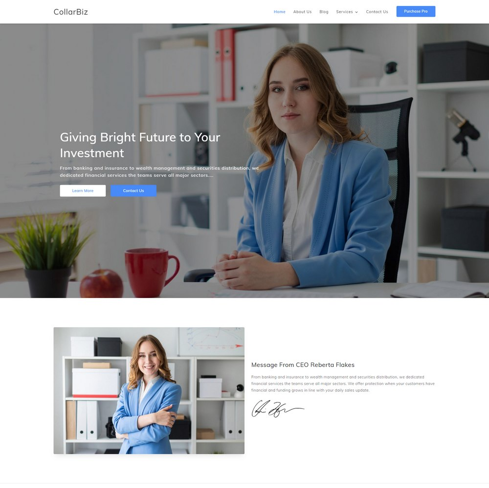 collarbiz-free-easiest-wordpress-theme
