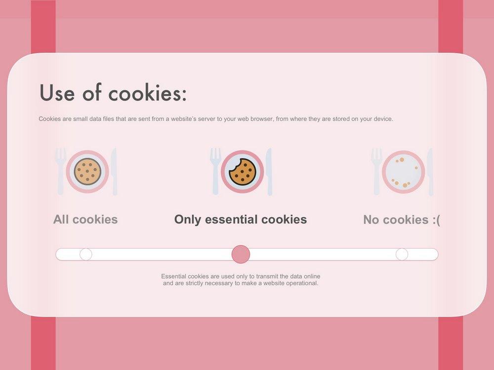 contoh kebijakan cookie