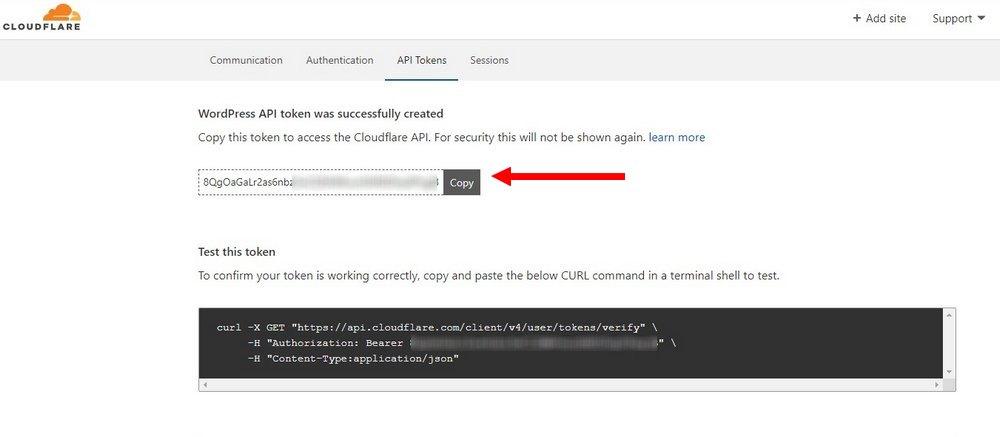 create cloudflare api 3