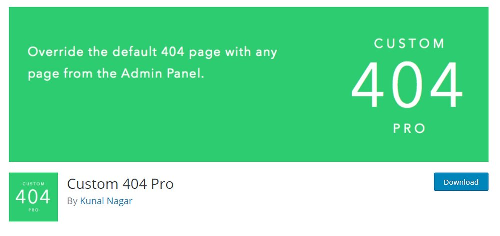 cutom 404 pro