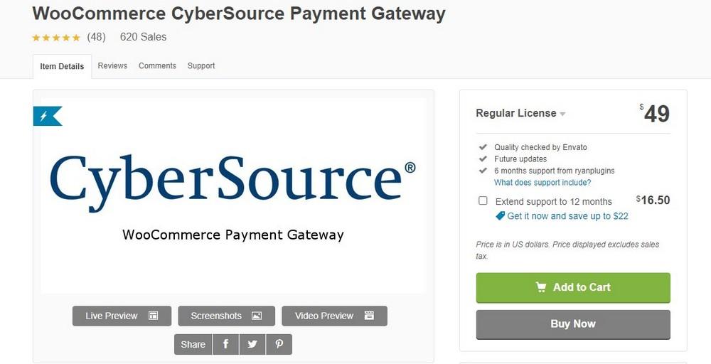 plugin cybersource