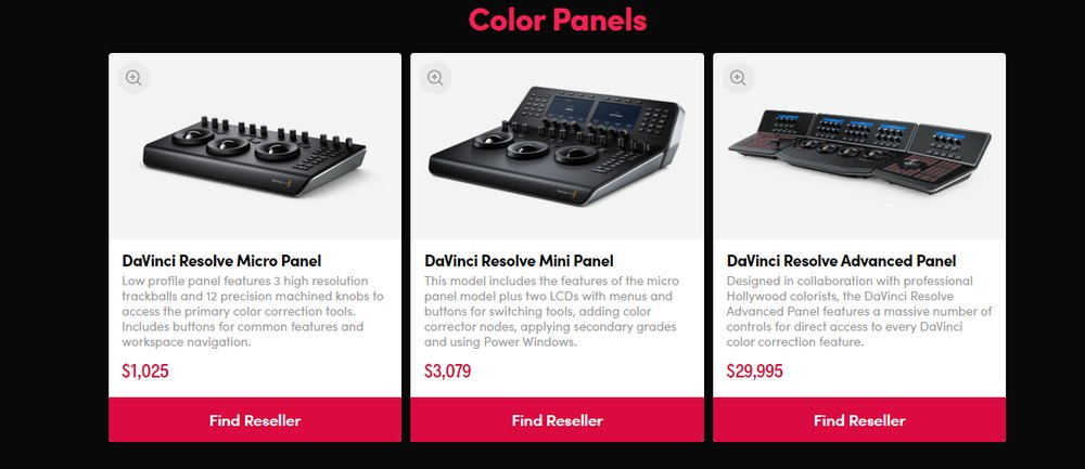 davinci resolve hardware