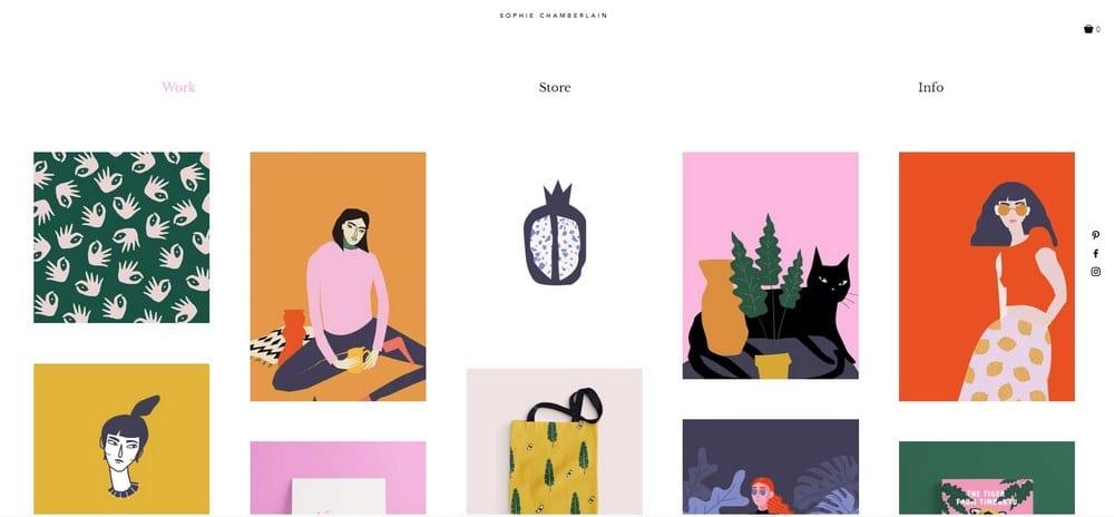 designer-portfolio-wix-template