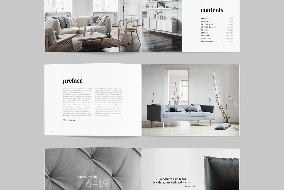 40+ Free InDesign Templates For Stunning 40 Print Projects ...