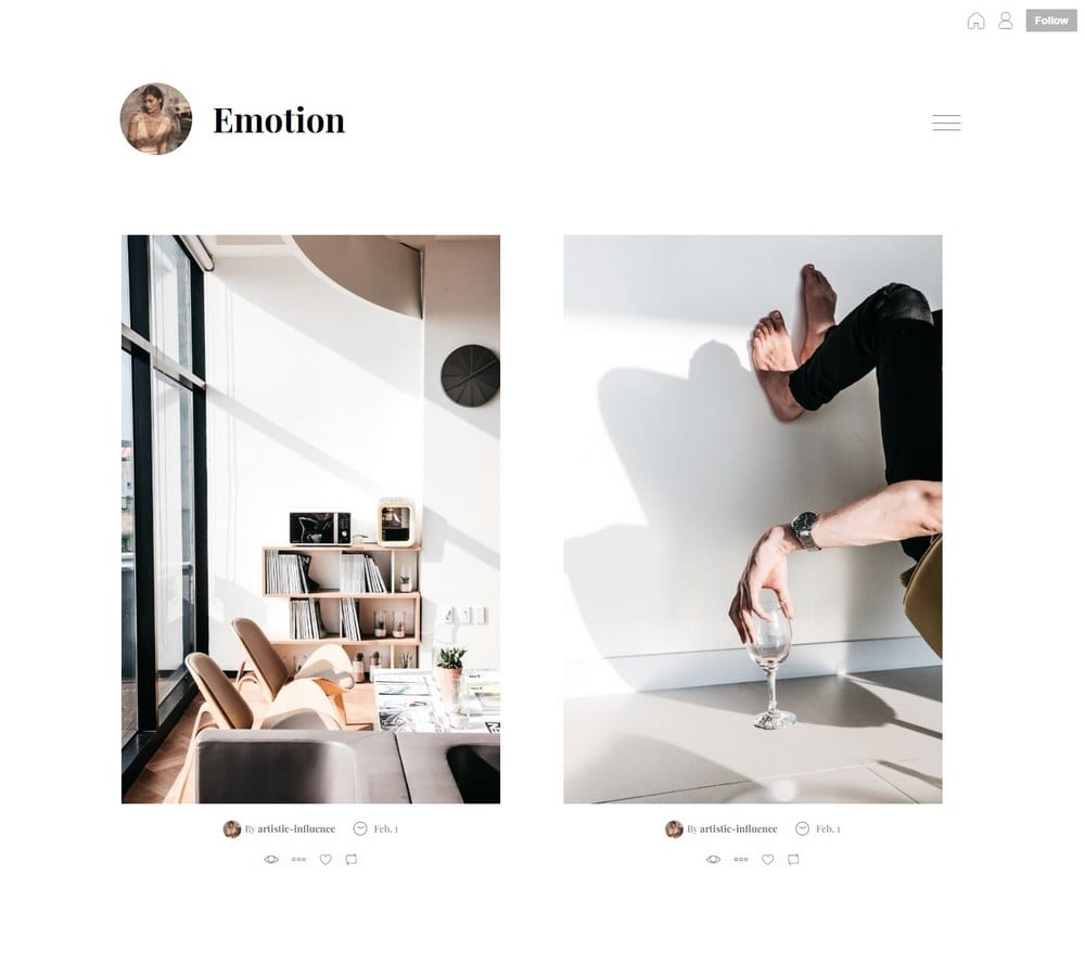 emotion-tumblr-theme