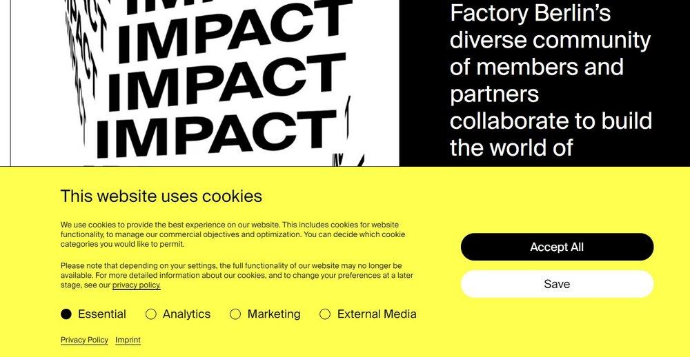 factoryberlin - pesan cookie