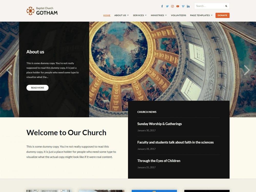 faith-Free-Church-WordPress-Theme