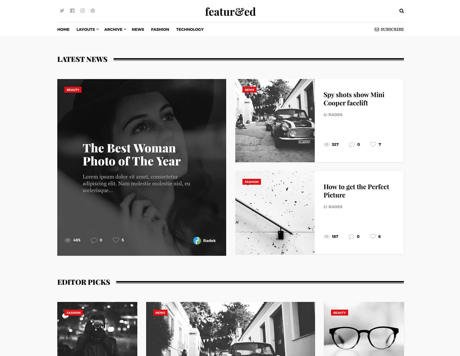 24+ Best Grid WordPress Themes 2018 - Theme Junkie