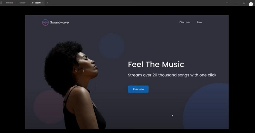 figma design website in 1 hour