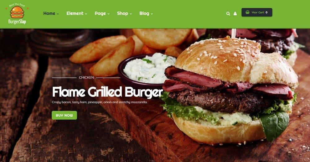 food-website-homepage