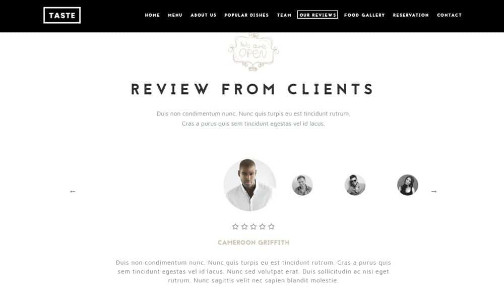 food-website-reviews