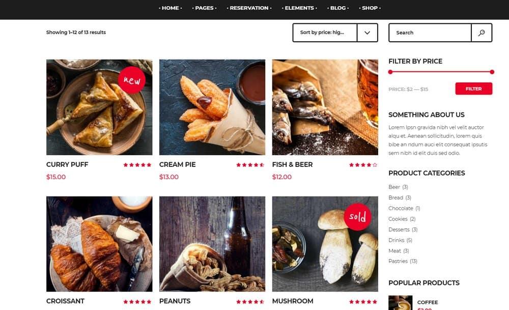 food-website-shop