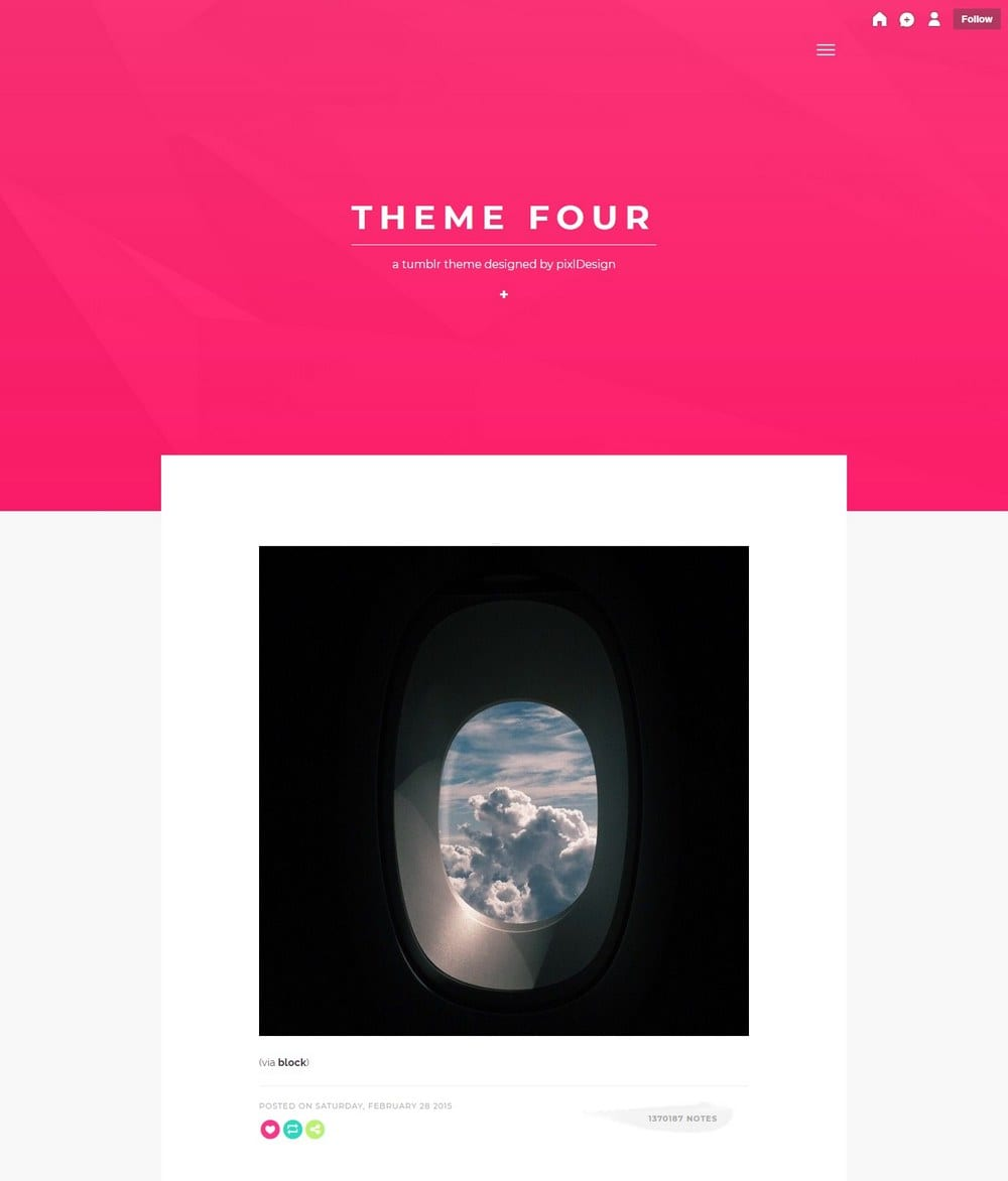 four-minimal-tumblr-theme