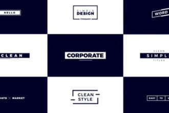 25+ Best Free After Effects Title Templates (Title Animations) 2021