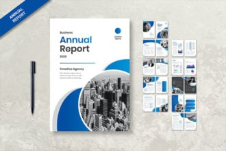 20+ Best Free Annual Report Template Designs 2020