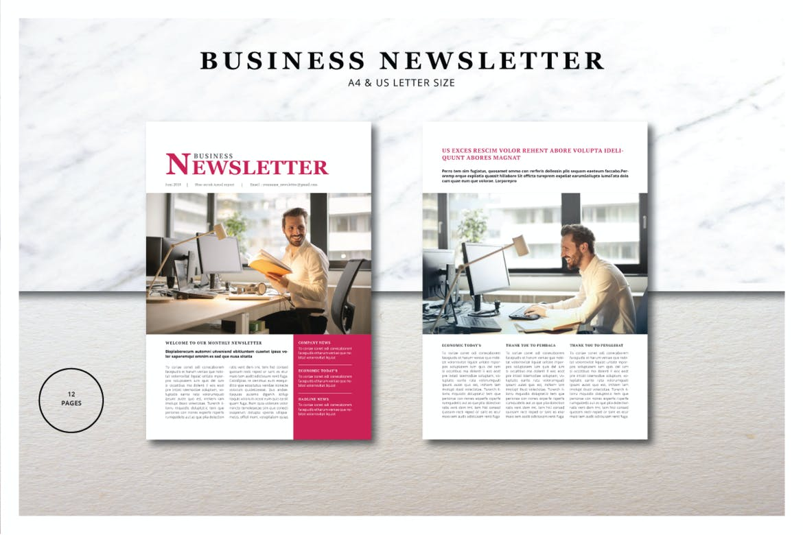 20 Best Indesign Newsletter Templates Free Pro 2020 Theme Junkie