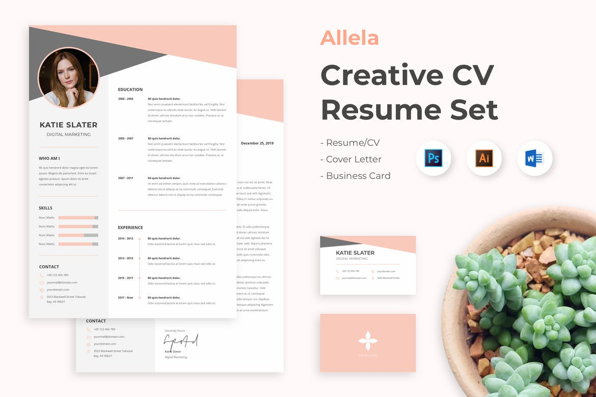25 Best Free Resume Cv Templates For Word Psd Theme Junkie