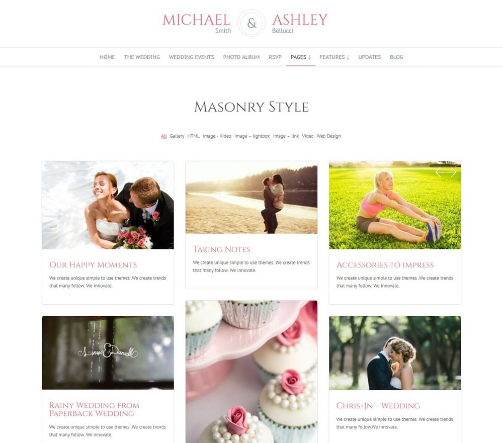How To Build a Wedding Website with WordPress - Theme Junkie