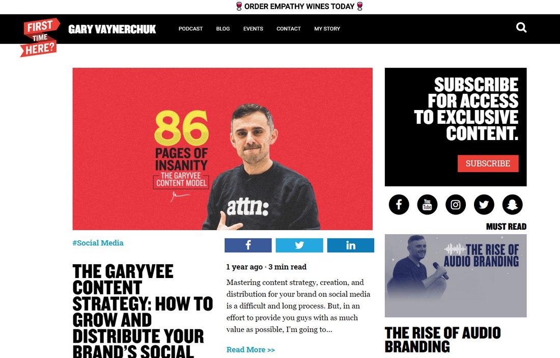 blog gary vee