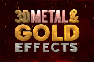 20+ Gold Effects & Patterns for Photoshop (+ Gold Foil Effects)