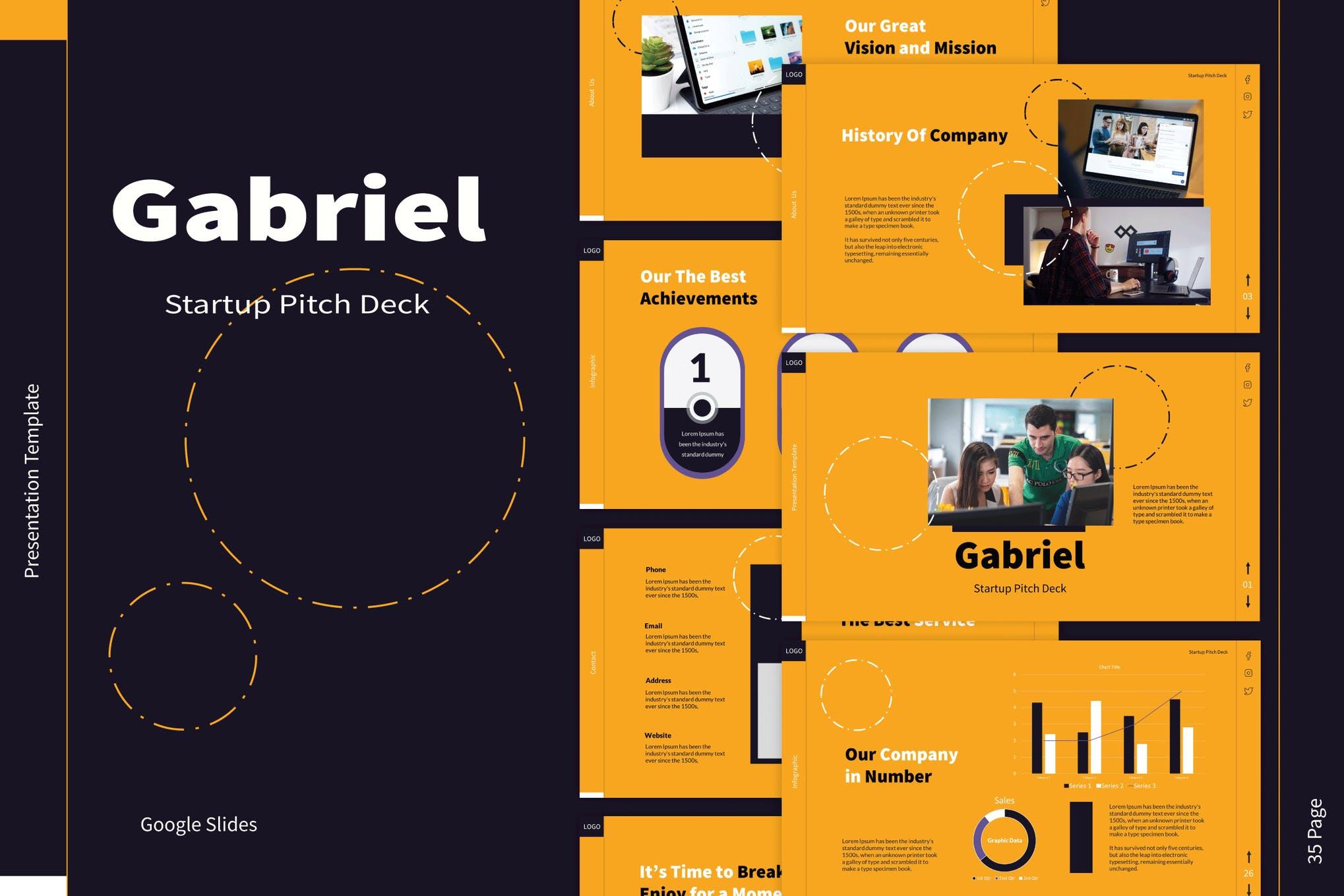 google slides pitch deck