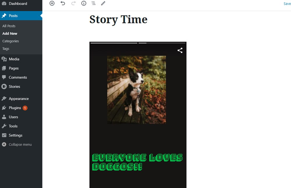 google web stories embed 3