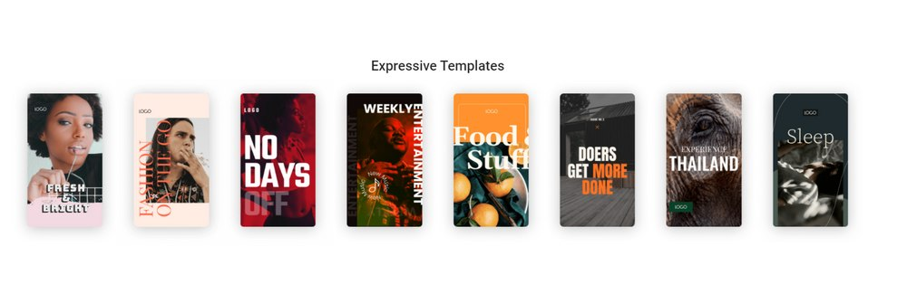 google web stories templates